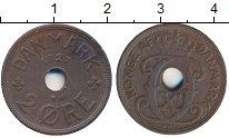 Изображение Монеты Дания 2 эре 1927 Бронза XF