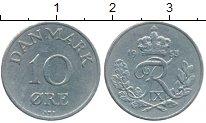 Изображение Монеты Дания 10 эре 1953 Медно-никель XF Фредерик IX