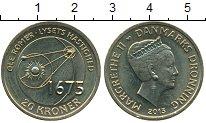 Изображение Монеты Дания 20 крон 2013 Латунь UNC- Оле Рёмер