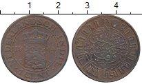 Изображение Монеты Нидерландская Индия 1 цент 1914 Бронза XF