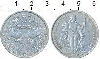 Изображение Монеты Новая Каледония 5 франков 1952 Алюминий UNC-