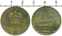 Изображение Мелочь Польша 2 злотых 2006 Латунь UNC- Хелм