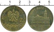 Изображение Мелочь Польша 2 злотых 2006 Латунь UNC- Нови  Сач