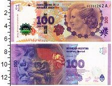 Продать Банкноты Аргентина 100 песо 2017