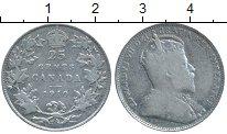 Изображение Монеты Канада 25 центов 1910 Серебро XF-