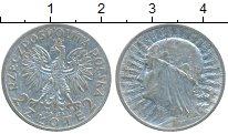 Изображение Монеты Польша 2 злотых 1934 Серебро VF+
