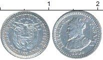Изображение Монеты Панама 2 1/2 сентесимо 1904 Серебро XF Васко Нуньес де Баль