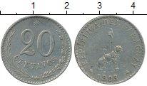 Изображение Монеты Южная Америка Парагвай 20 сентаво 1903 Медно-никель XF