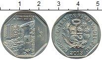 Изображение Монеты Перу 1 соль 2013 Медно-никель XF Богатство и гордость
