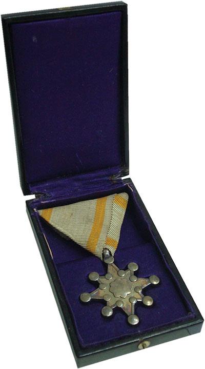 Изображение Значки, ордена, медали Азия Япония Медаль 0 Серебро XF