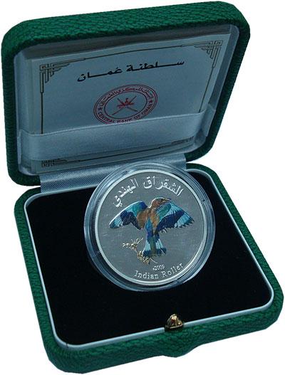 Изображение Подарочные монеты Оман 1 риал 2009 Серебро Proof