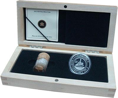 Изображение Подарочные монеты Северная Америка Канада 20 долларов 2012 Серебро Proof