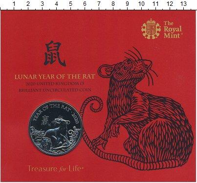 Изображение Подарочные монеты Европа Великобритания 5 фунтов 2020 Медно-никель BUNC
