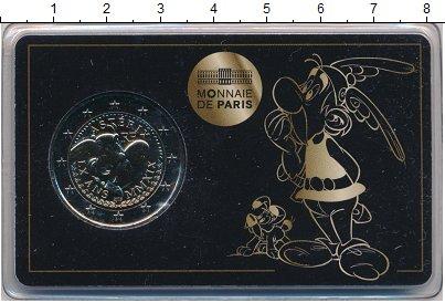 Изображение Подарочные монеты Франция 2 евро 2019 Биметалл UNC