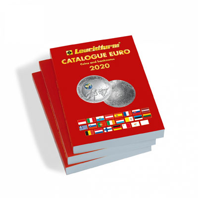 Изображение Книги о монетах Европа КАТАЛОГ МОНЕТ И БАНКНОТ ЕВРО 2020 НА АНГЛИЙСКОМ ЯЗЫКЕ 2020