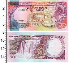 Изображение Банкноты Сан-Томе и Принсипи 500 добрас 1993  UNC