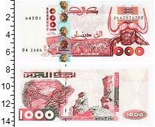 Изображение Банкноты Алжир 1000 динар 1998  UNC