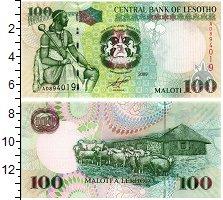 Изображение Банкноты Лесото 100 малоти 2009  UNC