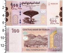 Изображение Банкноты Йемен 100 риал 2018  UNC