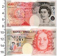 Изображение Банкноты Великобритания 50 фунтов 1994  UNC-