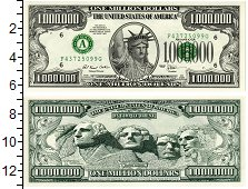 Изображение Банкноты Северная Америка США 1000000 долларов 1996  UNC