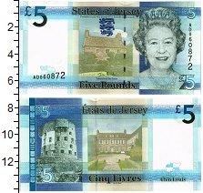 Изображение Банкноты Остров Джерси 5 фунтов 0  UNC