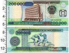 Продать Банкноты Мозамбик 200000 метикаль 2003