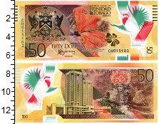 Изображение Банкноты Тринидад и Тобаго 50 долларов 2015 Пластик UNC