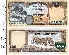Изображение Банкноты Непал 500 рупий 0  UNC