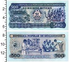 Продать Банкноты Мозамбик 500 метикаль 1989