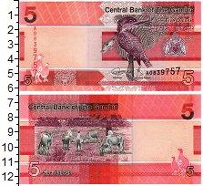Изображение Банкноты Гамбия 5 даласи 2019  UNC