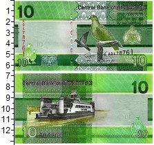 Изображение Банкноты Гамбия 10 даласи 2019  UNC