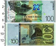 Продать Банкноты Сан-Томе и Принсипи 100 добрас 2016