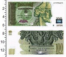 Изображение Банкноты Грузия 100 лари 2012  UNC