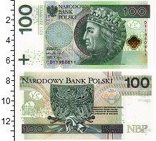 Изображение Банкноты Польша 100 злотых 2018  UNC