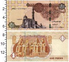 Изображение Банкноты Египет 1 фунт 2017  UNC