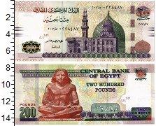 Изображение Банкноты Египет 200 фунтов 2019  UNC
