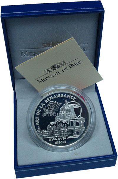 Изображение Подарочные монеты Европа Франция 6,55957 2000 Серебро Proof