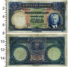 Изображение Банкноты Латвия 50 лат 1934  VF+