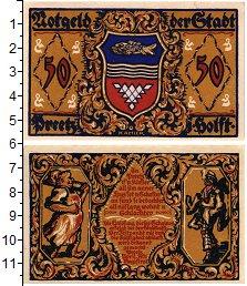 Изображение Банкноты Германия : Нотгельды 50 пфеннигов 0  UNC Прец