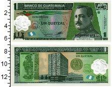 Изображение Банкноты Гватемала 1 кетцаль 2012 Пластик UNC