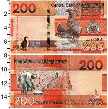 Изображение Банкноты Гамбия 200 даласи 2019  UNC