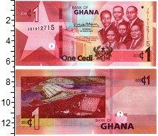 Изображение Банкноты Гана 1 седи 2019  UNC