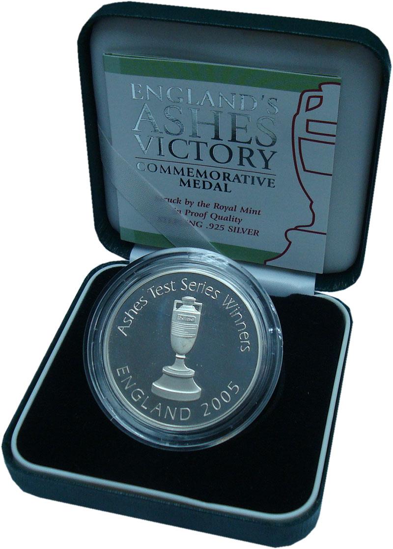Изображение Подарочные монеты Великобритания Медаль 2005 Серебро Proof
