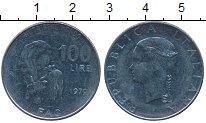 Изображение Дешевые монеты Италия 100 лир 1979 нержавеющая сталь VF Продовольственная пр