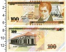 Изображение Банкноты Гондурас 100 лемпир 2016  UNC
