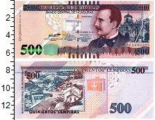 Изображение Банкноты Гондурас 500 лемпир 2016  UNC