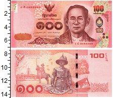 Изображение Банкноты Таиланд 100 бат 0  UNC
