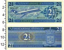 Изображение Банкноты Антильские острова 2 1/2 гульдена 1970  UNC