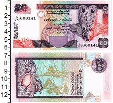 Изображение Банкноты Азия Шри-Ланка 20 рупий 2004  UNC